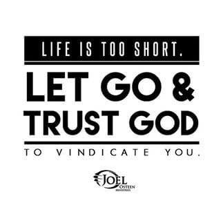 Let go Trust GOD