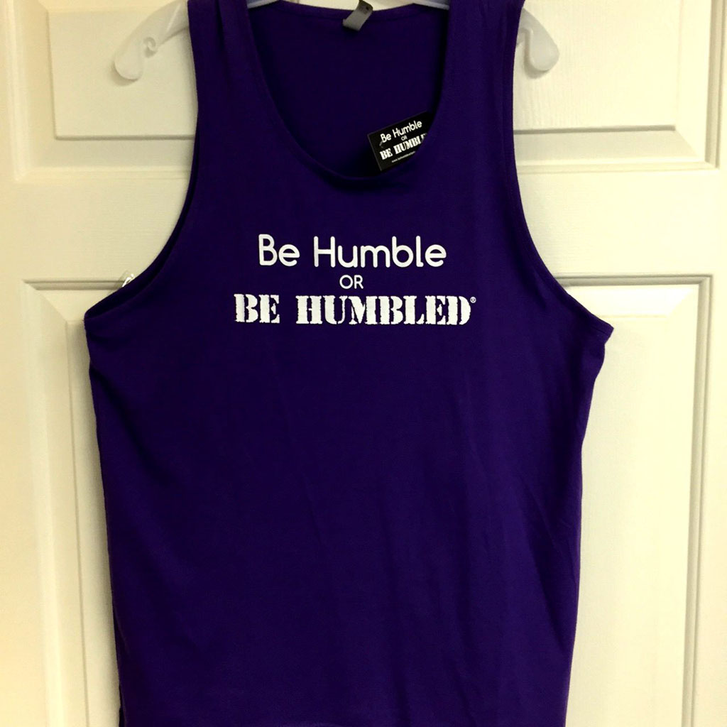 Mens Tank Purple