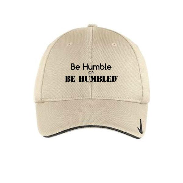 e317b9cd7c2 Nike Golf - Dri-FIT Mesh Swoosh Flex Sandwich Cap - Be Humble or Be ...